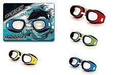 Ultra Clear Comfort Fit Swimming Pool Beach Goggles Glasses Kids Children Blue