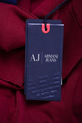 Aj 6x6ma56m0iz Pullover Hommes Chemise Bordeaux Pull Jersey 1492 Jeans Armani wS7Ht