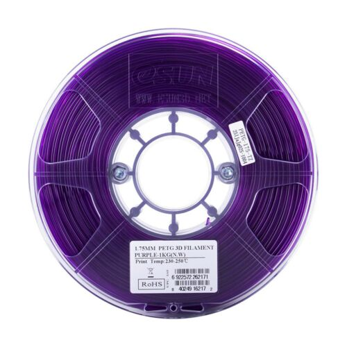eSUN PETG 3D Printer Filament 1kg roll 1.75mm /& 2.85mm Free Shipping
