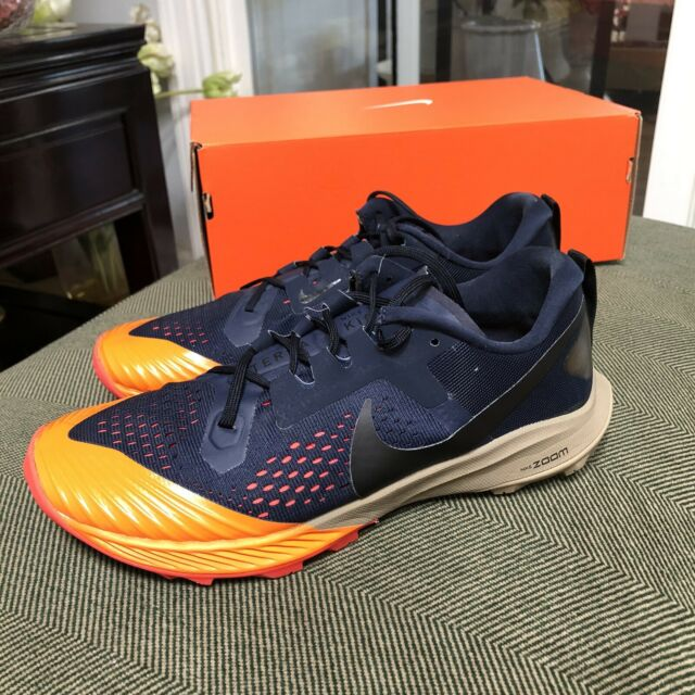 Nike Mens Air Zoom Terra Kiger 5 Trail Running Shoes Obsidian Laser Size 9.5