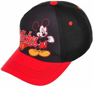 Disney-Mickey-Mouse-Chicos-Ajustable-Gorra-De-Beisbol-Sombrero-Ninos-Regalo-Juguete-del-nino-2