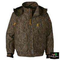Browning Wicked Wing Timber Wader Jacket Coat Bottomland Camo Xl