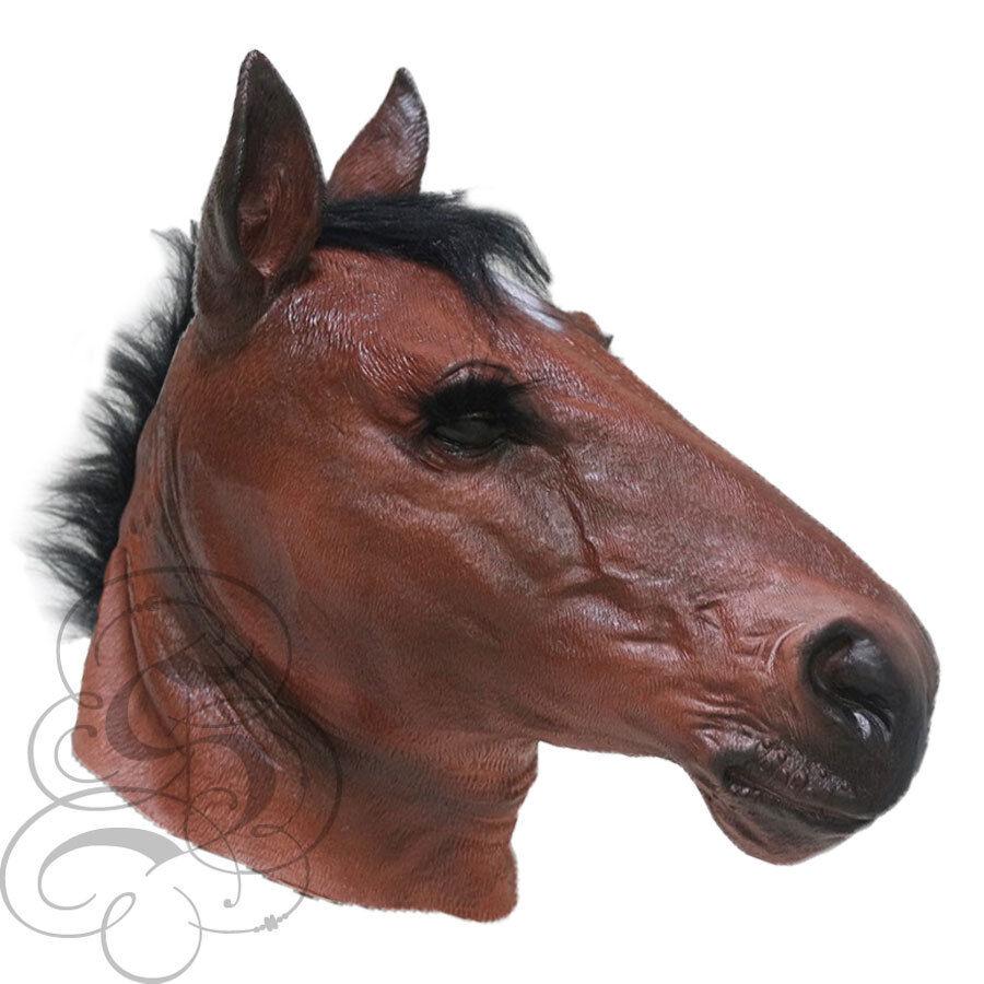 NUOVO Originale Marrone Cavallo Over Head mask