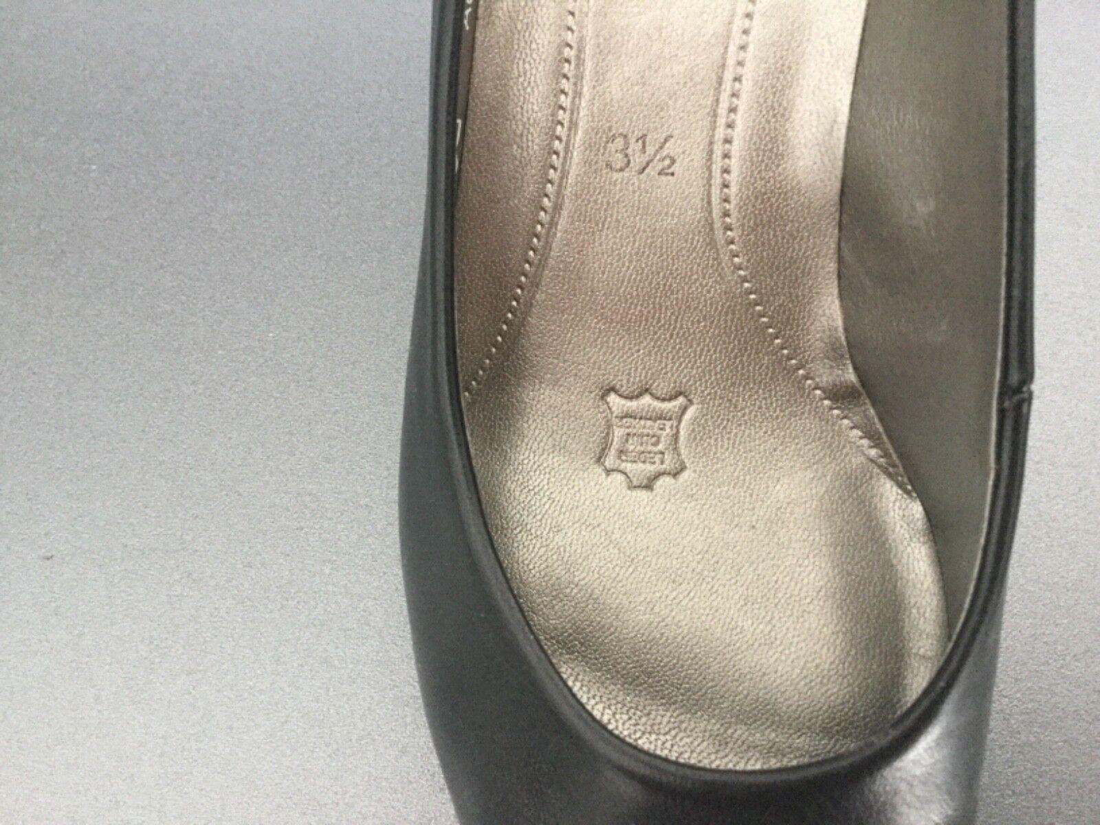 Gabor eleganter Pumps 6 schwarz, 37, 3,5, Leder, 6 Pumps cm Absatz, chic, neuwertig 959746