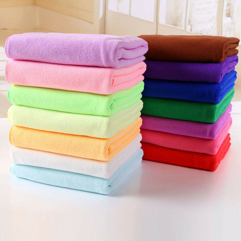 Home, Furniture & DIY 70x140cm Microfiber Beach Shower Home Bath Towel Large Quick Drying Towel