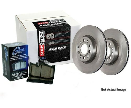 Centric 908.40536 Ceramic Rear Disc Brake Pad and Rotor Kit