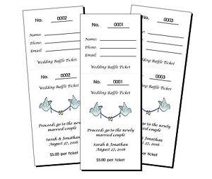56 personalized wedding bridal shower raffle tickets ebay