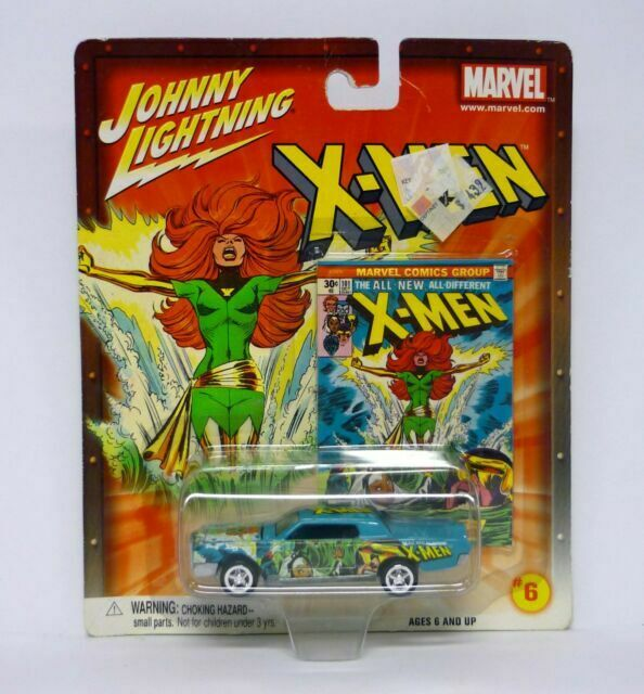 JL JOHNNY LIGHTNING THE UNCANNY   X MEN #198 1959 DESOTO #9