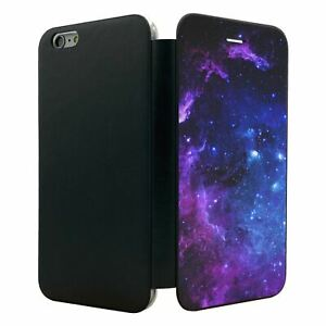 iPhone-6-PLUS-Flip-Wallet-Case-Cover-Space-Galaxy-Stars-S4393