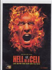 2012 TOPPS WWE ALBERTO DEL RIO VS JOHN CENA HELL IN A CELL INSERT WRESTLING CARD