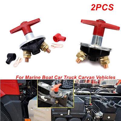 2X Battery Master Isolator Disconnect Power Kill Switch Marine Car RV ATV  Truck | eBay