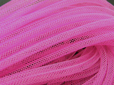 4mm SKINNY TUBULAR CRIN PINK CYBERLOX DREADS 10 METRES GIFT WRAPPING