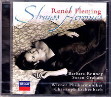 Renee FLEMING Richard STRAUSS HEROINES CD ESCHENBACH Susan GRAHAM Barbara BONNEY