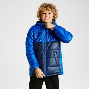 adidas Kids Padded Winter Jacket Navy
