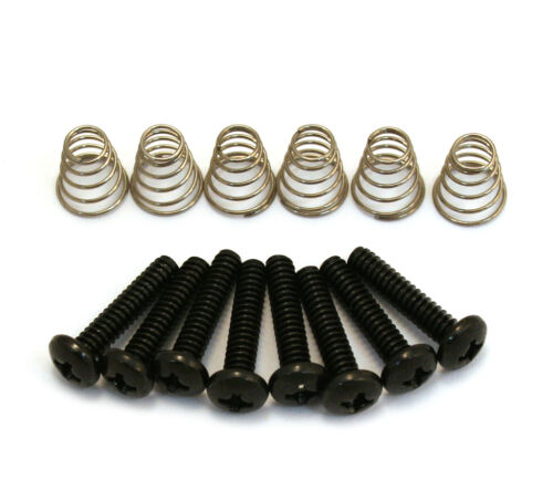 Black Pickup//Switch Screws//Springs for Fender Stratocaster//Strat® GS-0007-003