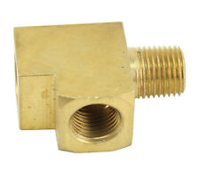 "Brass T-Fitting For Gauges 1/8"" NPT 9205 Oil Pressure"