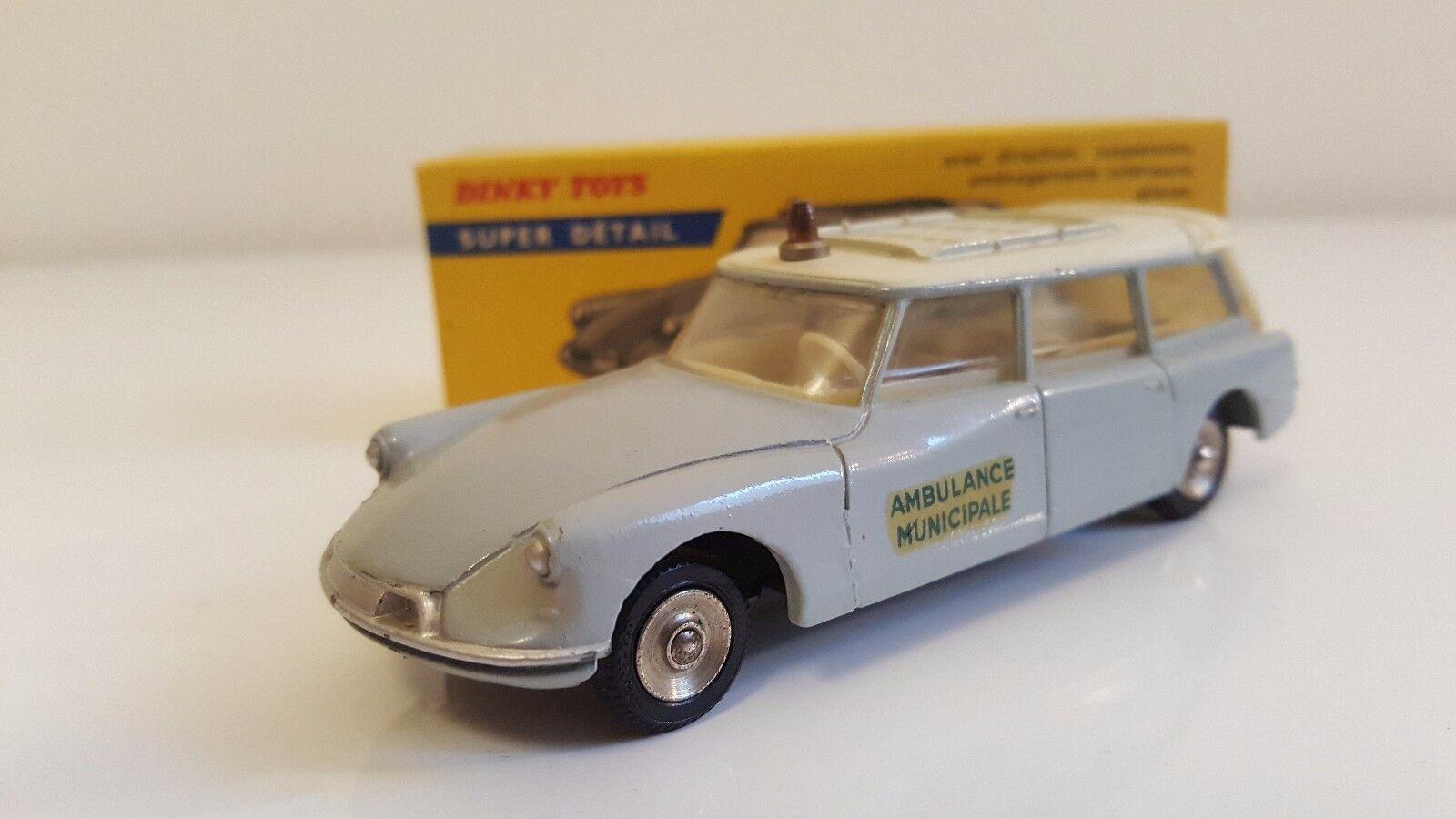 Dinky Toys - 556 - Citroën ID 19 Ambulance en boîte d'origine N MIB