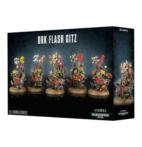 Ork - gitz warhammer 40.000 games workshop gw 40k orks 50-24