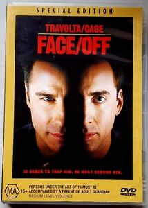 Face-Off-Special-Edition-John-Travolta-amp-Nicolas-Cage-DVD-LIKE-NEW-Region4