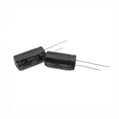 5 PCS 1000uF 50V 105C Radial Electrolytic Capacitor 13x21mm NEW