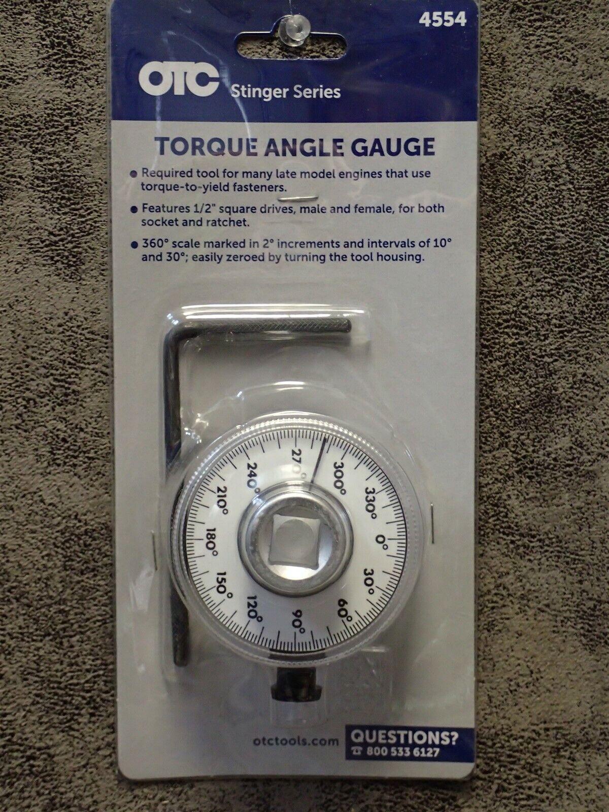 OTC 4554 1//2 Drive Torque Angle Gauge