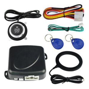 12VRFID-Autoalarmanlage-mit-Druckknopfstart-und-Touch-schluesselloses-Lenksystem