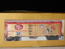 Mantua ** SAN FRANCISCO 49erS * NFL * SUPER BOWL CHAMPS ** HO Scale Train *NEW*