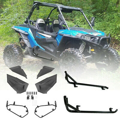 Turbo 1000S 900S 2 Seater XP1000 ELITEWILL Orange Nerf Bars Rock Sliders Fit for 2014-2019 Polaris RZR 900 Trail