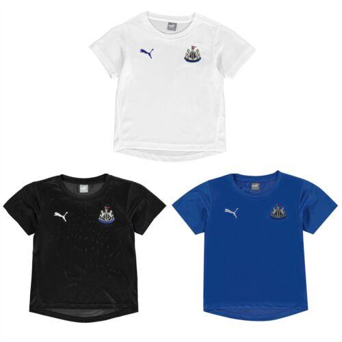 Puma Newcastle United Performance T-Shirt Juniors Football Soccer Top Tee Shirt