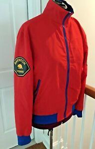Baywatch Beach Lifeguard Swimsuit Jacket Costume Medium 38-40 Zip Up