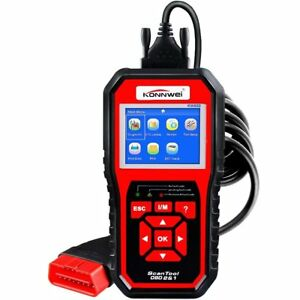 KW850 OBD2 EOBD Universal Automotive Engine Fault Scanner Diagnostic Tester
