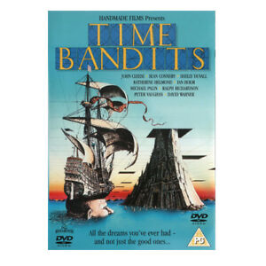 TIME-BANDITS-1981-DVD-John-Cleese-Sean-Connery-New-Sealed-All-Region