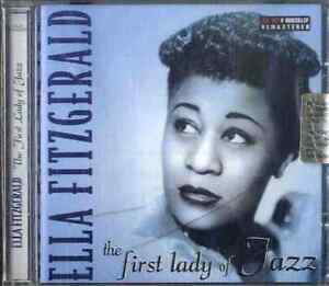 ELLA-FITZGERALD-The-first-lady-of-jazz-CD-Sealed