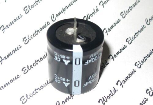 MATSUSHITA 4700uF 4700µF CE 2pcs 35V Snap-In Radial Electrolytic Capacitor