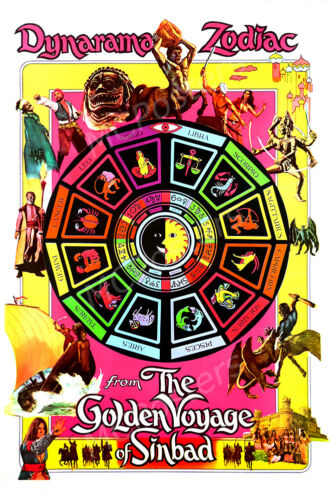 Posters USA The Golden Voyage of Sinbad Movie Poster Glossy Finish MCP658