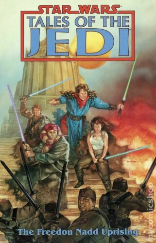 Star Wars Tales of the Jedi The Freedon Nadd Uprising TPB #1-1ST NM 1997