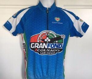 6186 Cuore Italiano Gran Fondo Cycling Jersey 2XL XXL
