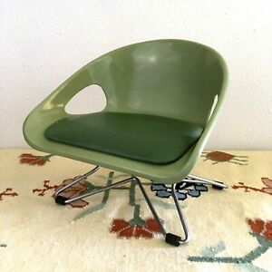 VINTAGE-MID-CENTURY-MODERN-CHILDS-BOOSTER-CHAIR-EAMES-STYLE-HAIRPIN-LEGS-MCM
