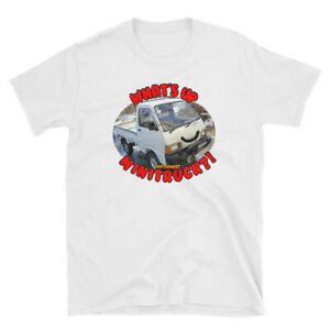 WUMT-What-039-s-up-Minitruck-Short-Sleeve-Unisex-T-Shirt-Limited-YouTube-Hijet-Kei