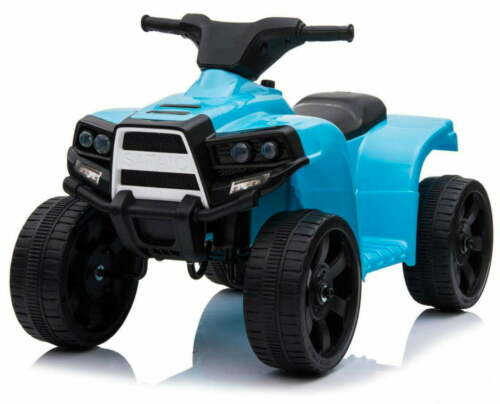 Mini Quad Elettrico per Bambini 6V Kid Go Blu