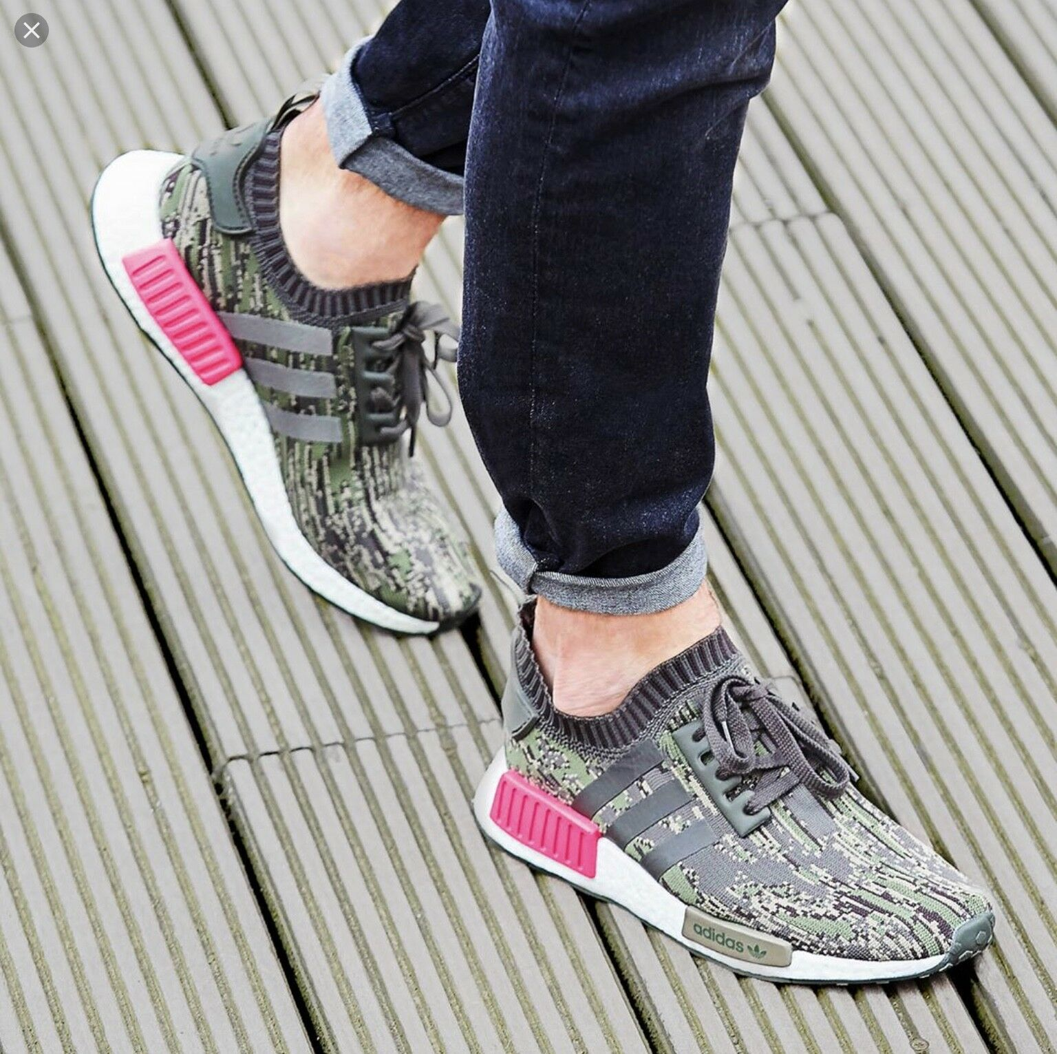 Adidas NMD Primeknit Sneakers BZ0222 R1 Originals nrmyki4859