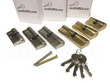 SecEuro Euro PVC Türverschluss aus Nikel 35/55mm with 5