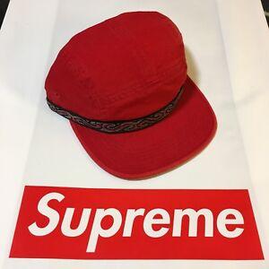 e8e0ba049e6 SUPREME WILDLIFE TAPING CAMP CAP (RED) FW17 BOX LOGO BEANIE MOUNTAIN ...