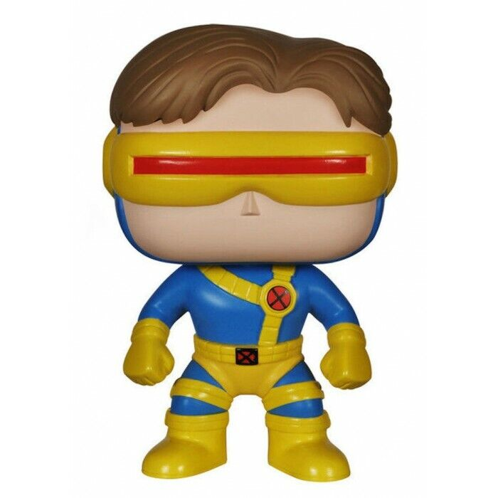 FUNKO BOBBLE HEAD POP CULTURE MARVEL X MEN CYCLOPS FIGURE NEW