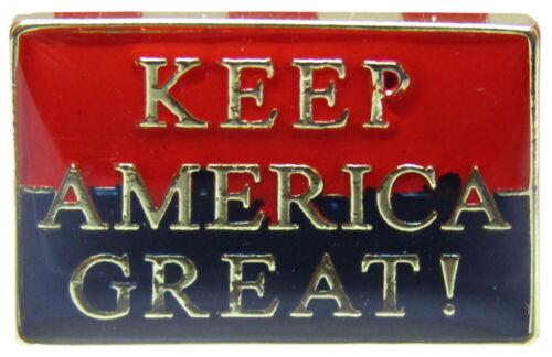 Red Blue Bike Hat Cap lapel Pin Wholesale Pack of 6 Keep America Great