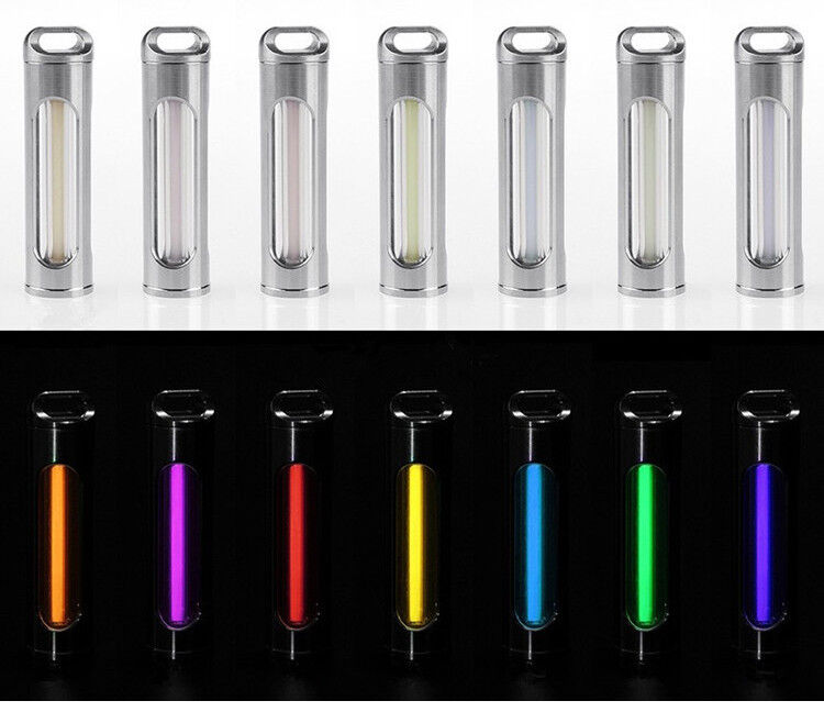 Outdoor Titanium CT4 Night  Light Tube Luminous EDC Keyring Pendant Tactical Tool  save 60% discount and fast shipping worldwide
