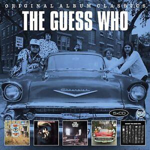 THE-GUESS-WHO-ORIGINAL-ALBUM-CLASSICS-5-CD-NEW