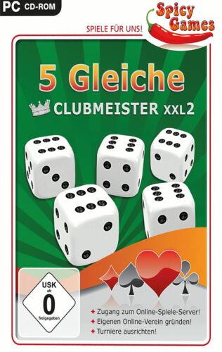 1 von 1 - 5 Gleiche Clubmeister XXL2 (PC, 2012, DVD-Box)