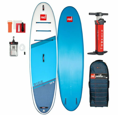 Red Paddle Co 10.6 /'Ride Msl Set Stand Up Paddle Sup Board Gonflable 320x81cm