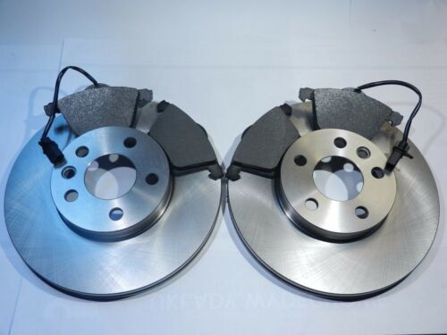 Bremsbeläge Bremsscheiben vorne für Audi A4 8E A6 4B Seat Exeo VW Passat 3B3 3B6